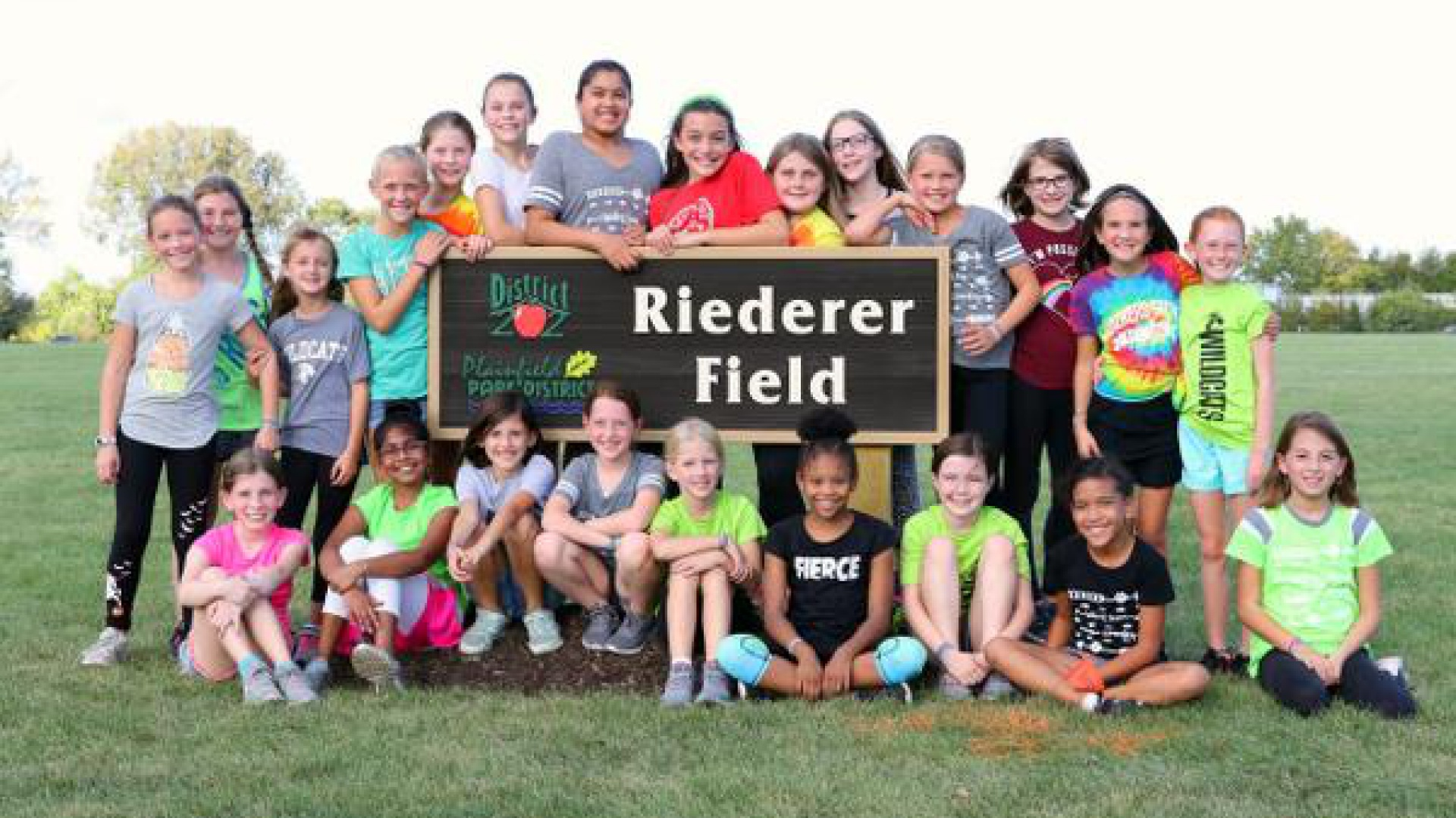 Riederer Field Sign