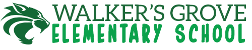 Walker's Grove Elementary School logo centered