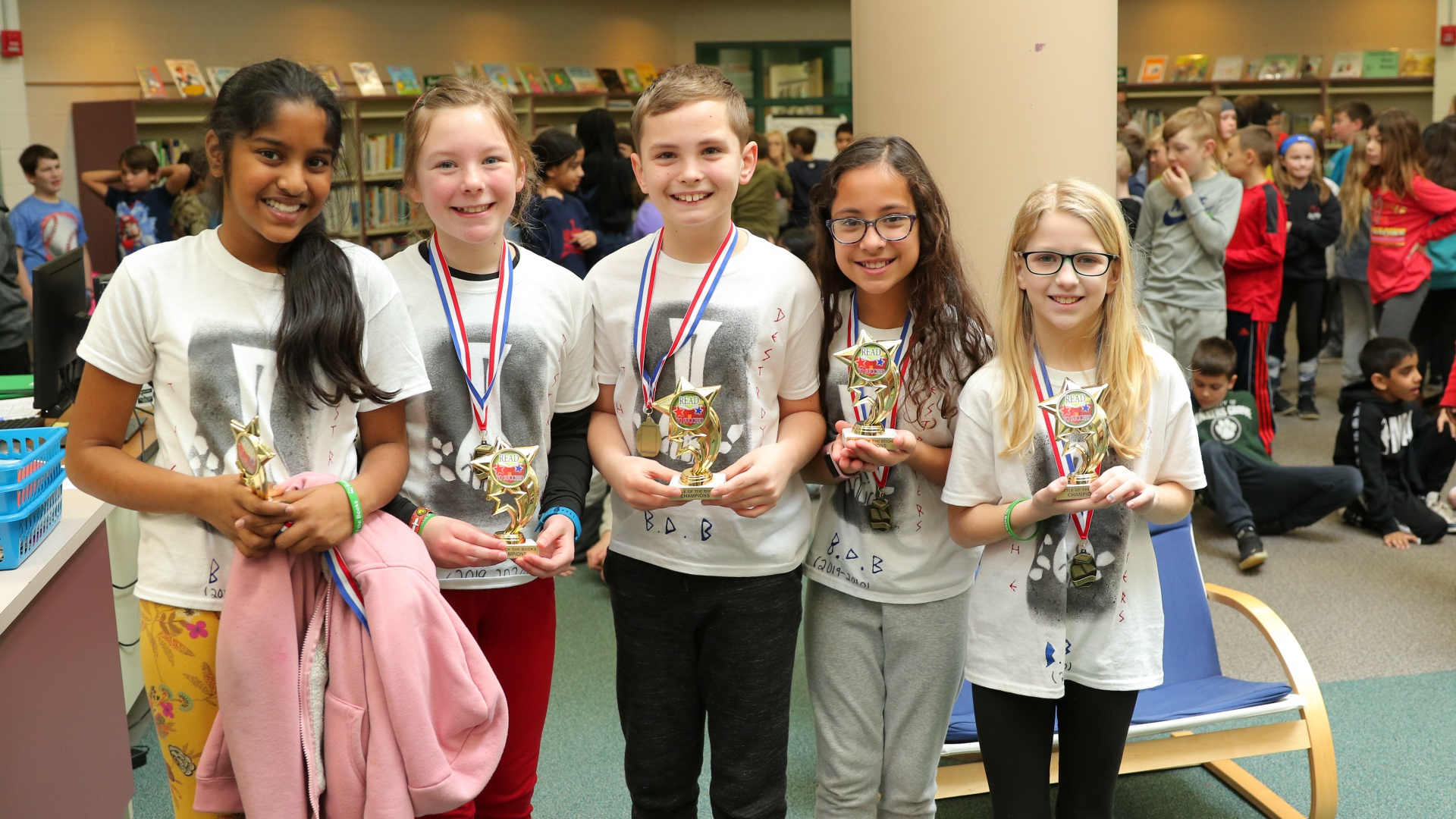 slidshow image - Battle of the books....Winners -